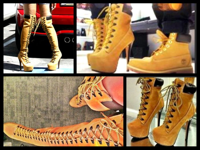 Timb Heel Boots - Everything Lovely